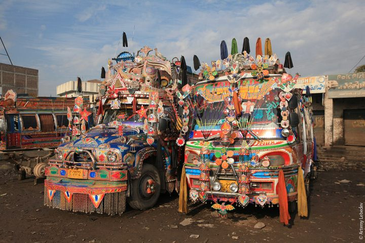 Транспорт в Пакистане, интересные особенности (29)