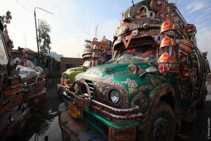 Транспорт в Пакистане, интересные особенности (33)