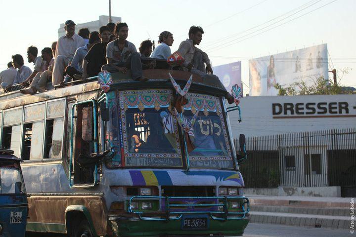 Транспорт в Пакистане, интересные особенности (36)