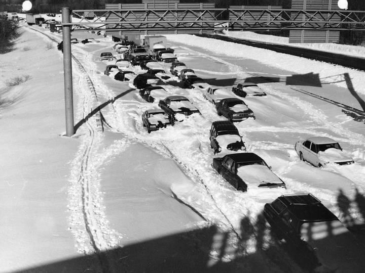 Шесть самых больших автомобильных пробок в истории (3)