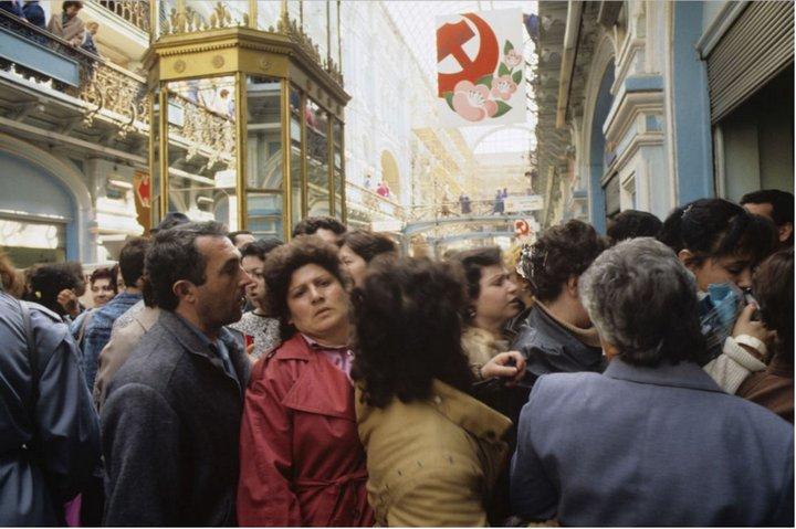 Лица советской эпохи. Очередь (1)