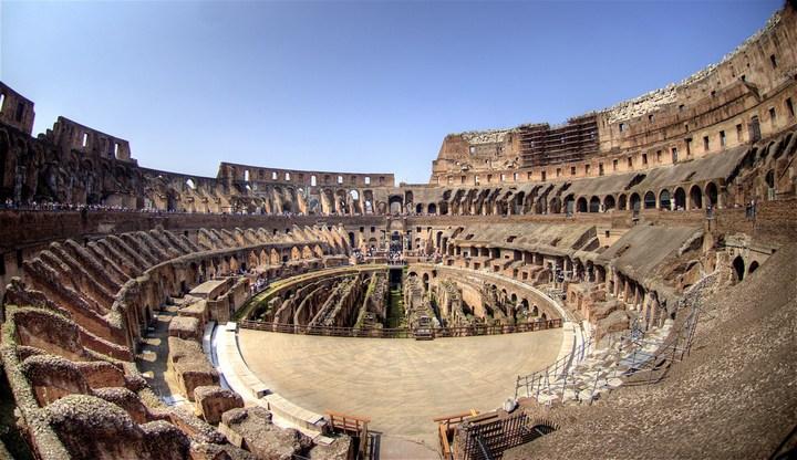 Римский Колизей изнутри (1)