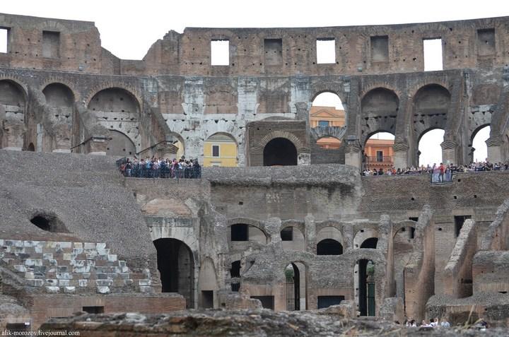 Римский Колизей изнутри (3)
