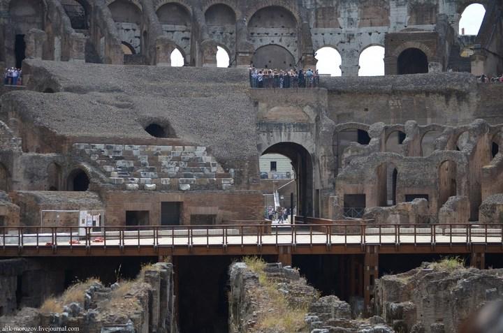 Римский Колизей изнутри (6)