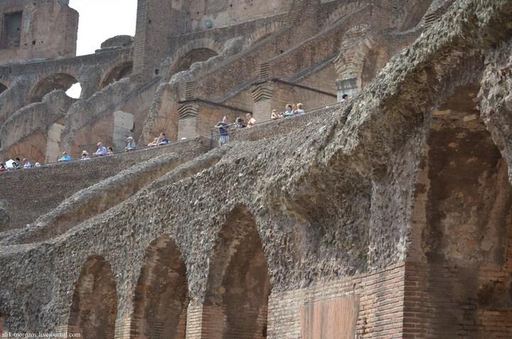 Римский Колизей изнутри (9)