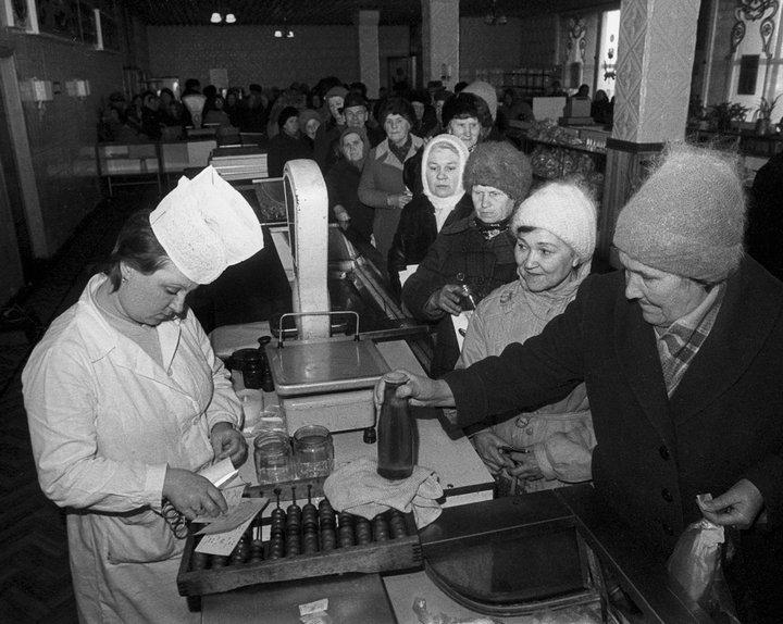 Лица советской эпохи. Очередь (12)