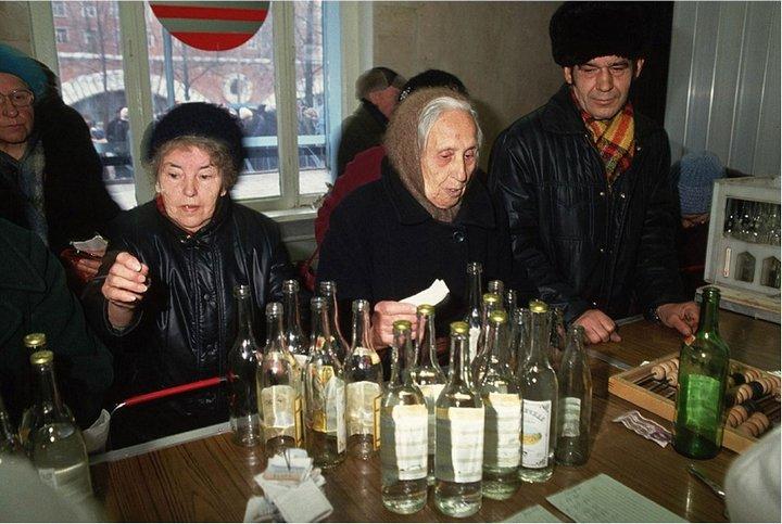 Лица советской эпохи. Очередь (15)