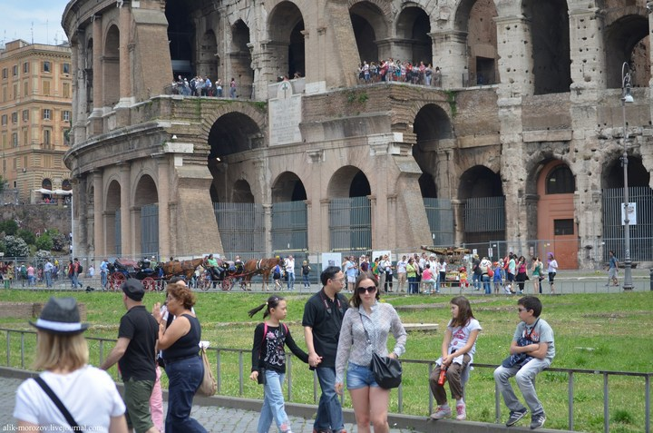Римский Колизей изнутри (18)