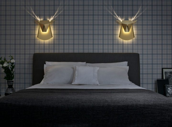 Необычные светильники в виде головы оленя и не только (1)