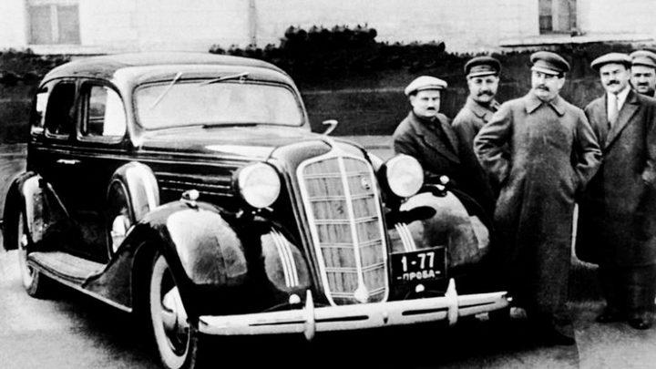 ЗИС-115 Восстановление автомобиля Сталина (2)