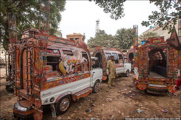Пакистанские маршрутки (6)