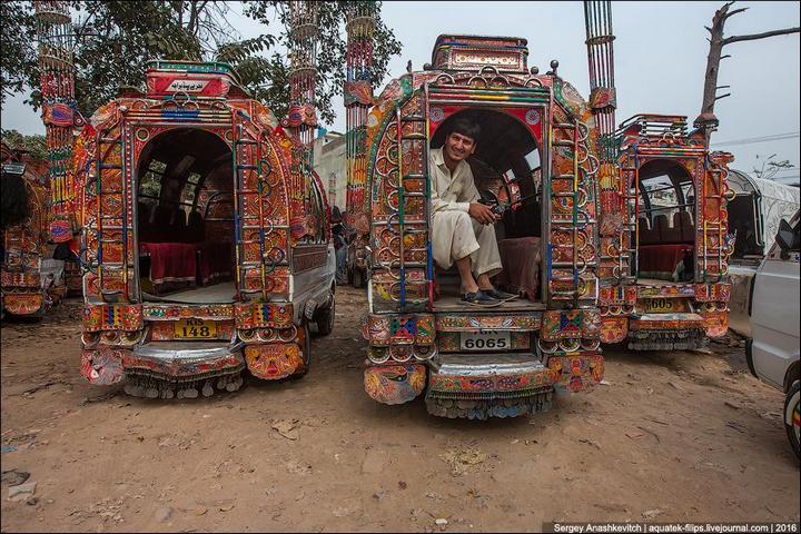 Пакистанские маршрутки (18)