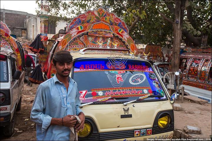 Пакистанские маршрутки (20)