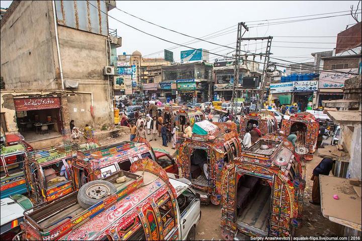 Пакистанские маршрутки (23)
