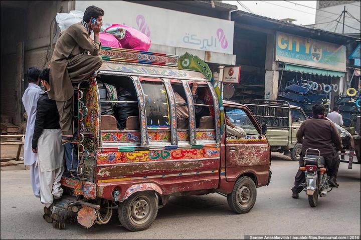 Пакистанские маршрутки (26)