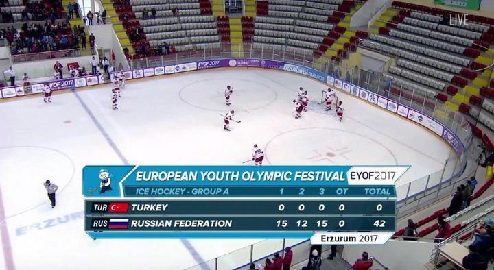 Как турки в хоккей играли