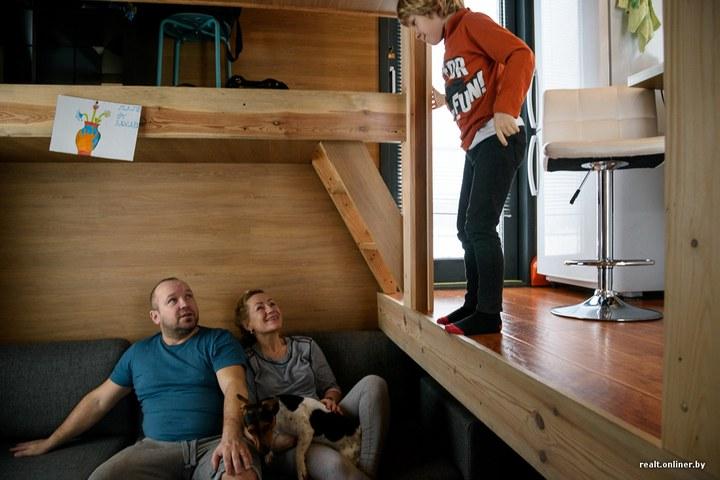 Втроем на 16 квадратных метрах. Семья живет в микродоме под Минском (11)