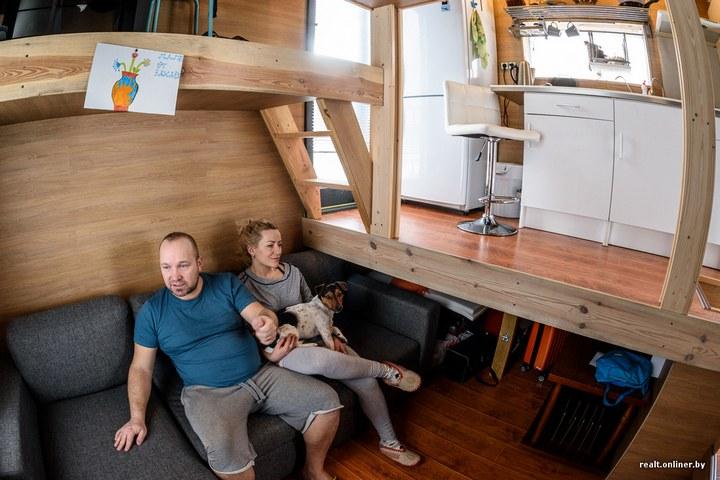 Втроем на 16 квадратных метрах. Семья живет в микродоме под Минском (13)