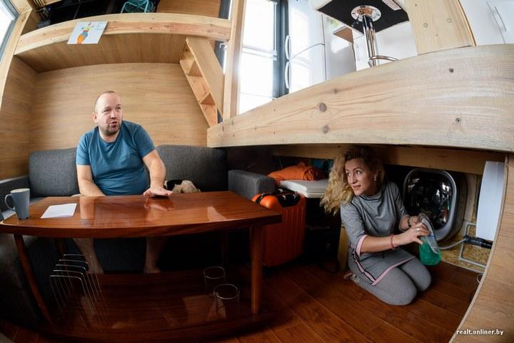 Втроем на 16 квадратных метрах. Семья живет в микродоме под Минском (15)