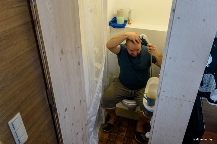 Втроем на 16 квадратных метрах. Семья живет в микродоме под Минском (19)