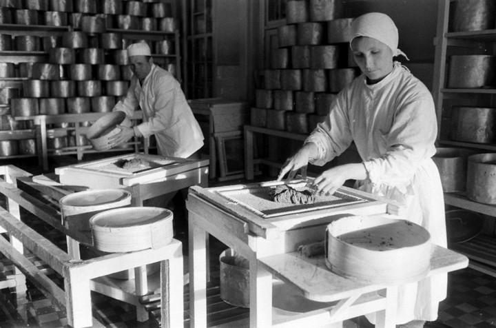 Добыча чёрной икры в Астрахани в 1960-м году (11)