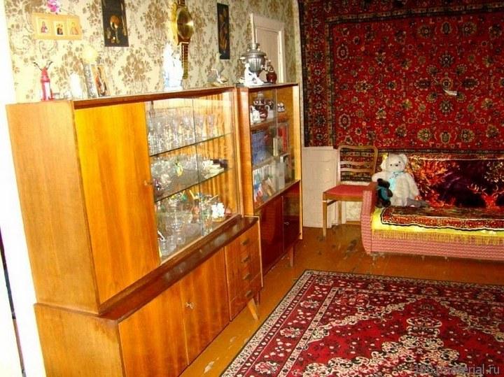 Интерьеры советских квартир 70-х… (14 фото)