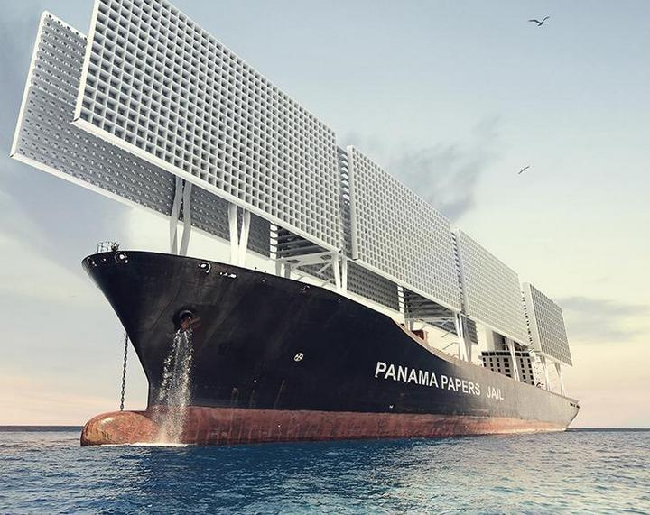 Французские архитекторы разработали проект тюрьмы-корабля (1)