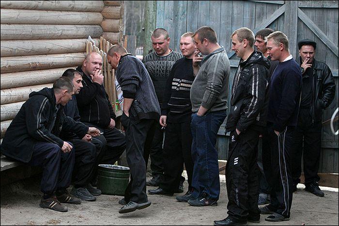 Деревенские проводы в армию (12)