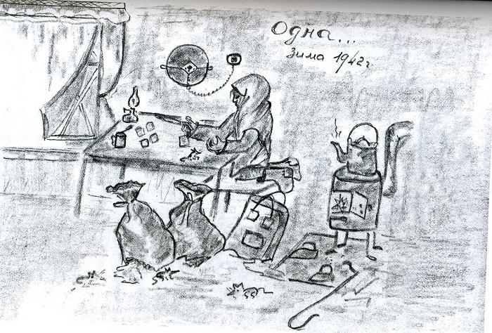 «Зарабатывают шакалы»: дневники блокадников Ленинграда… (5 фото)