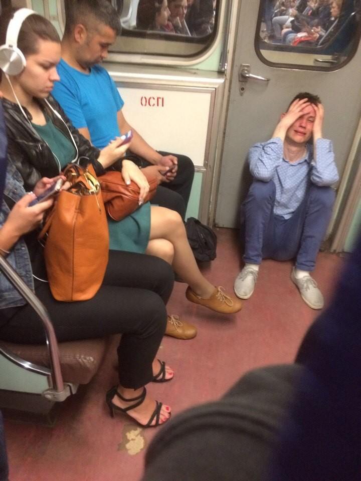 Подсмотрено в метрополитене (10)