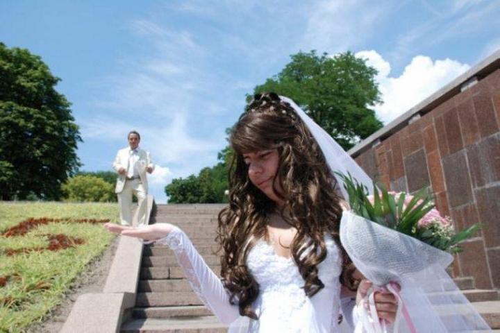 Свадебные ужасы на ладошке (2)