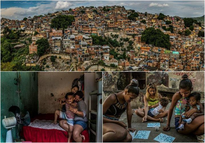Мрачные трущобы Рио-де-Жанейро… (31 фото)