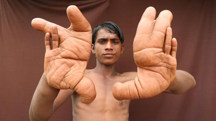 """Индийский """"рука-нога"""""""