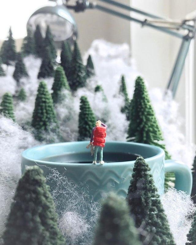 Удивительные миниатюры Деррика Лина (12)