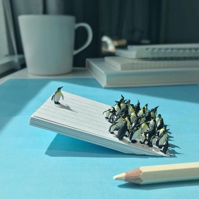 Удивительные миниатюры Деррика Лина (13)