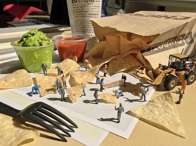 Удивительные миниатюры Деррика Лина (3)