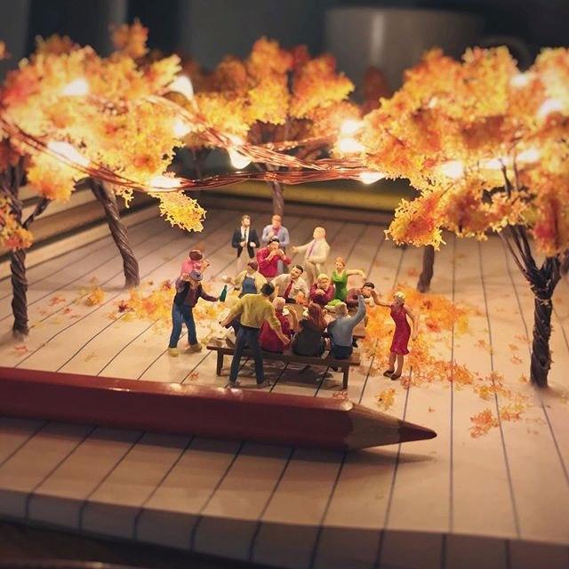 Удивительные миниатюры Деррика Лина (7)