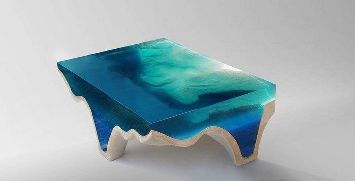 Удивительная мебель из стекла и мрамора (1)