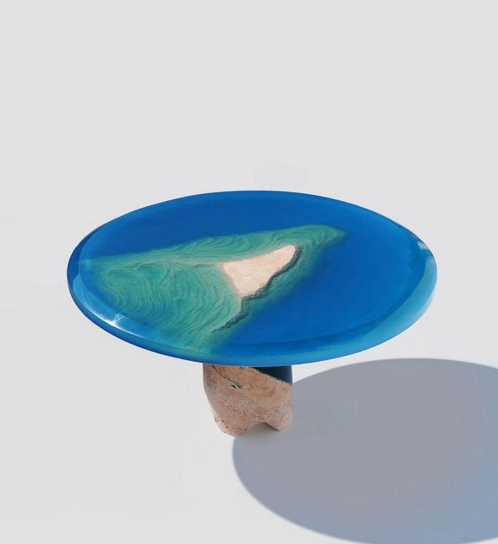 Удивительная мебель из стекла и мрамора (5)