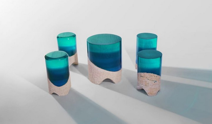 Удивительная мебель из стекла и мрамора (7)