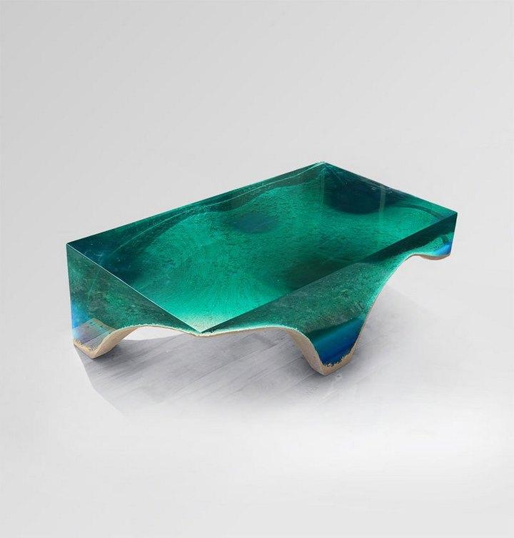 Удивительная мебель из стекла и мрамора (12)
