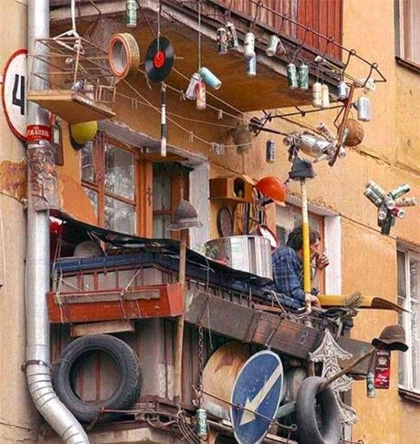 Балкон в России как объект для творчества и креативных идей (13)