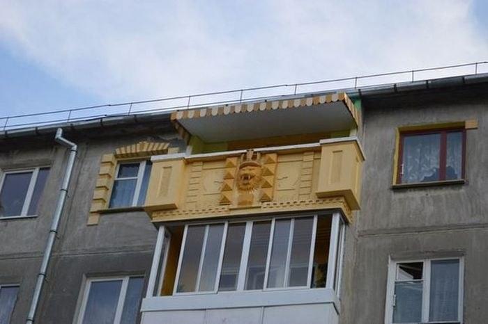 Балкон в России как объект для творчества и креативных идей (4)