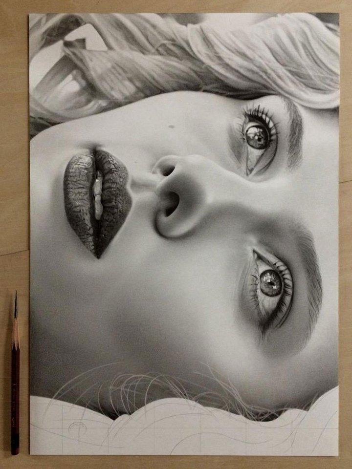 Супер реалистичные рисунки Kohei Ohmori… (12 фото)