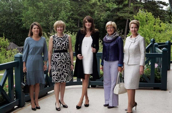 От Хрущевой до Путиной: как выглядели Первые Леди нашей страны (43)