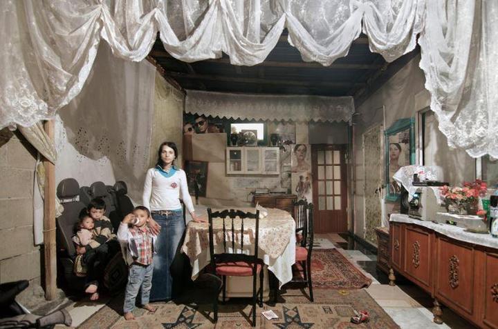 Цыганские жилища на окраинах Неаполя (3)
