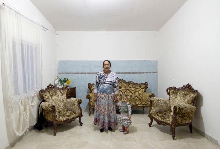 Цыганские жилища на окраинах Неаполя (2)