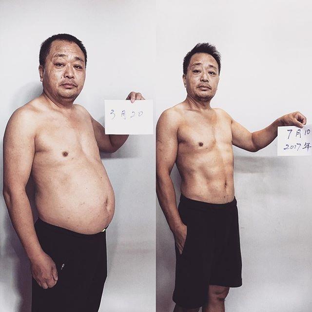 Отец и сын за 6 месяцев привели свои тела в порядок (2)