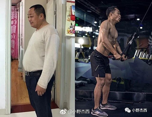 Отец и сын за 6 месяцев привели свои тела в порядок (5)