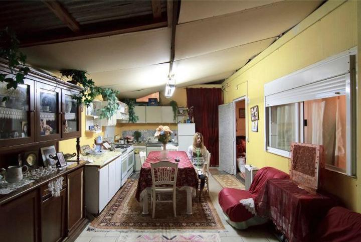 Цыганские жилища на окраинах Неаполя (8)